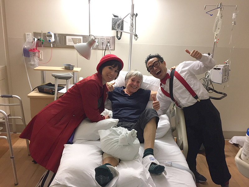 Medical Clowns in the hospital