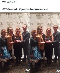 Award for The Greatest Monkey
