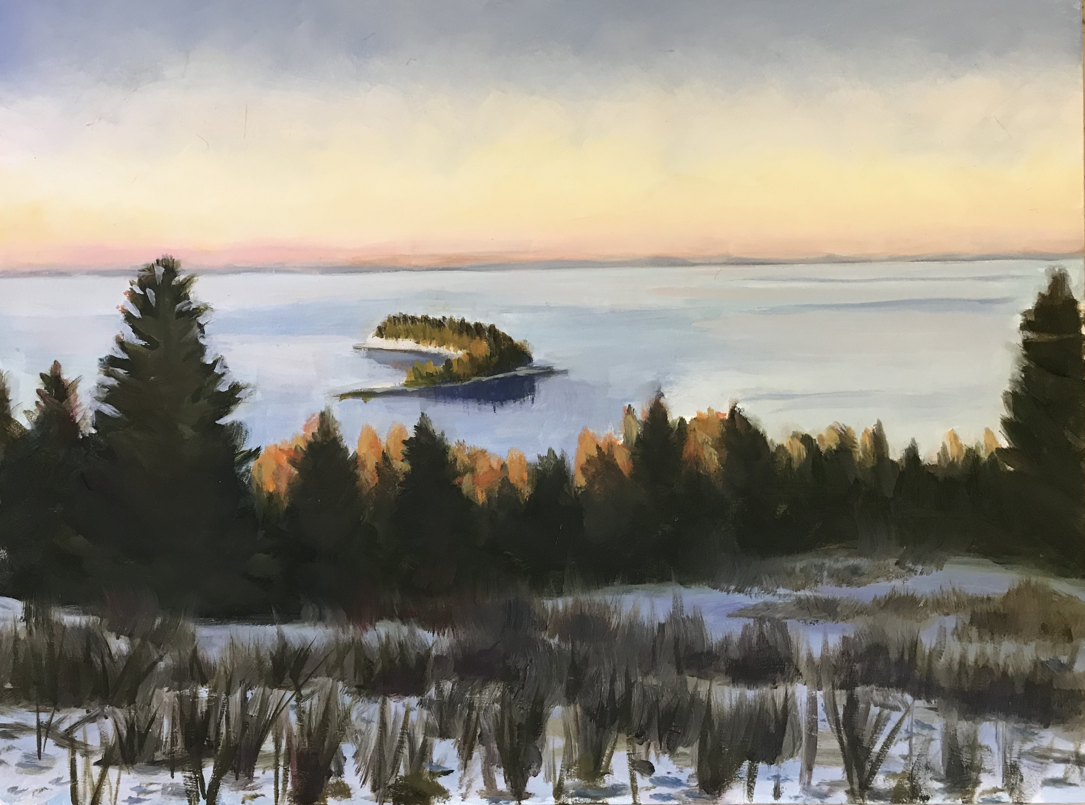 411 Lake Superior North Of Duluth 9 X12